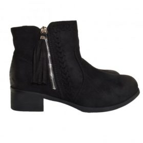 fall boots black