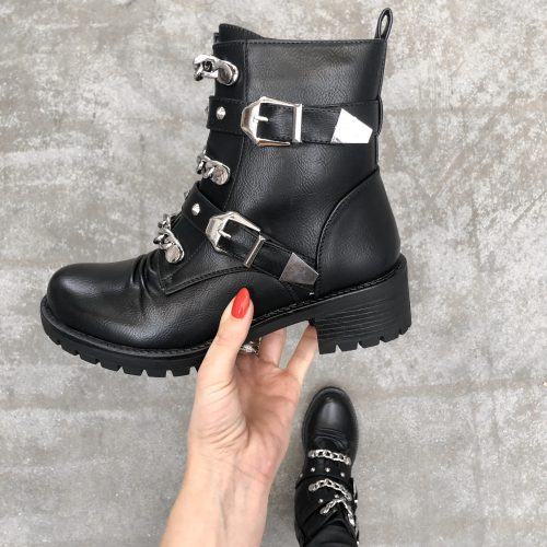 delany buckle boots