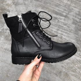 ARMY ZIPPER BOOTS