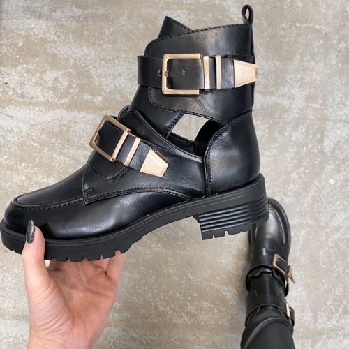 suzy black boots